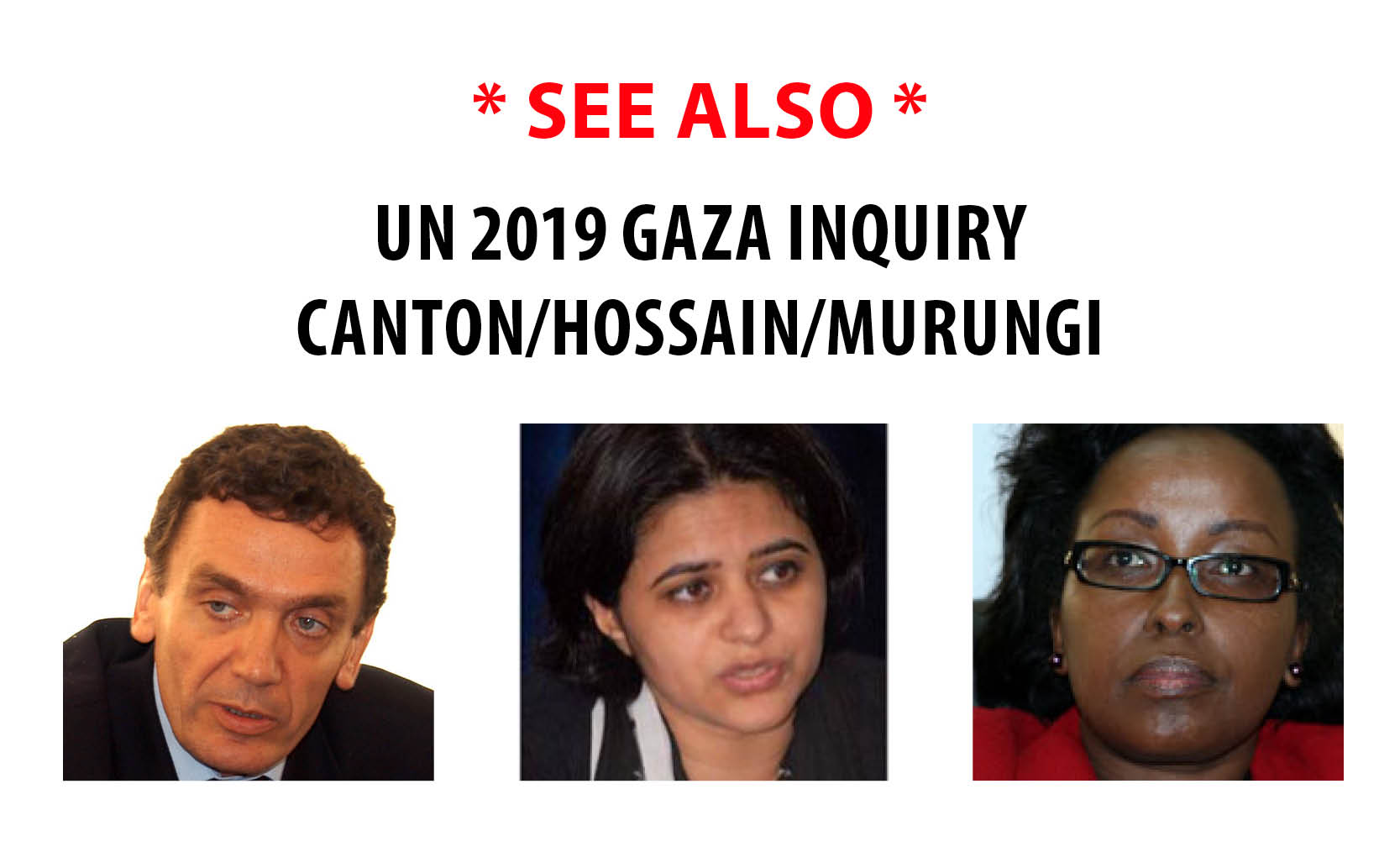 See also: UN Human Rights Council 2019 Gaza Commission of Inquiry